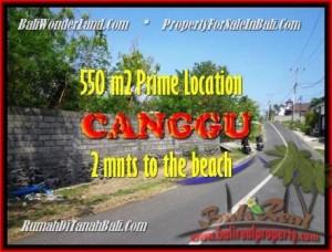 FOR SALE Exotic LAND IN Canggu Batu Bolong TJCG159