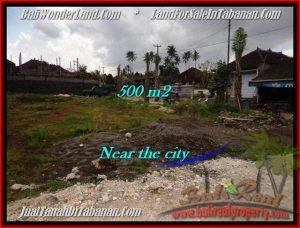Magnificent PROPERTY Tabanan City 500 m2 LAND FOR SALE TJTB201
