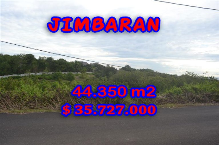 Amazing Property for sale in Bali, land for sale in Jimbaran Bali  – 44.350 m2 @ $ 806
