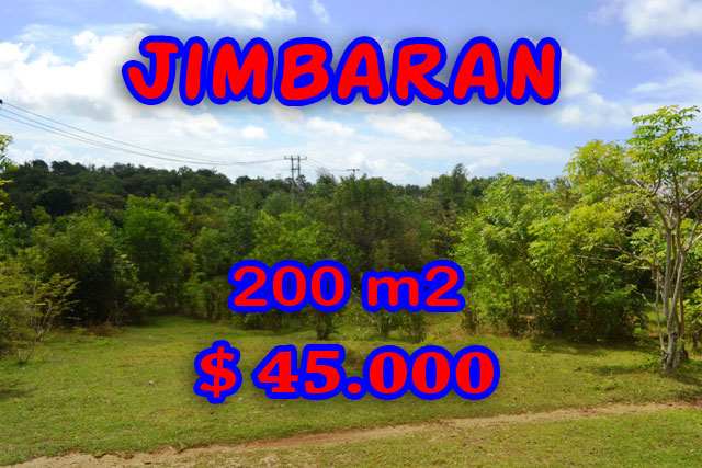 Land in Bali for sale, extraordinary view in Jimbaran Ungasan – TJJI038