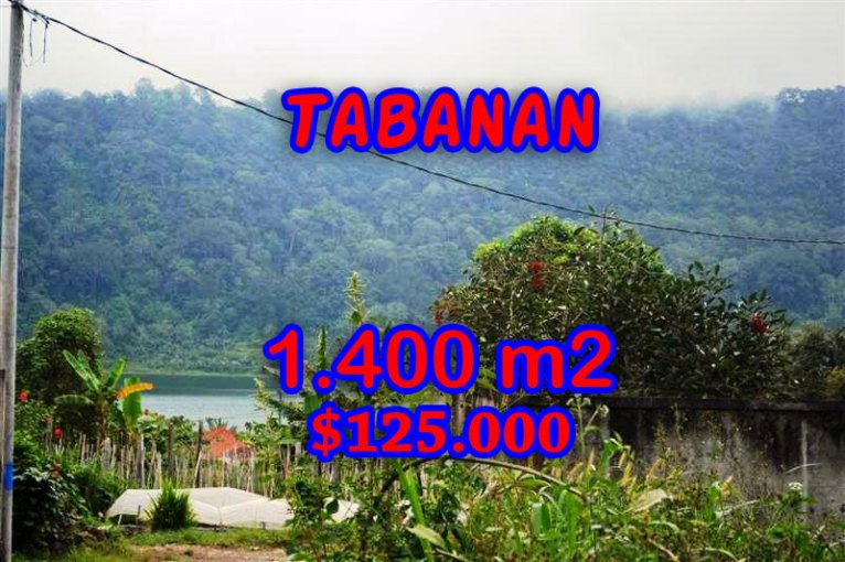 Spectacular Land for sale in Bali, Lake view in Tabanan Bedugul Bali – TJTB062