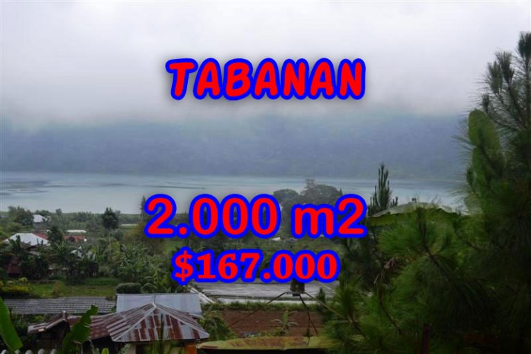 Amazing Land for sale in Bali, natural beauty by the lake in Tabanan Bedugul – Pancasari