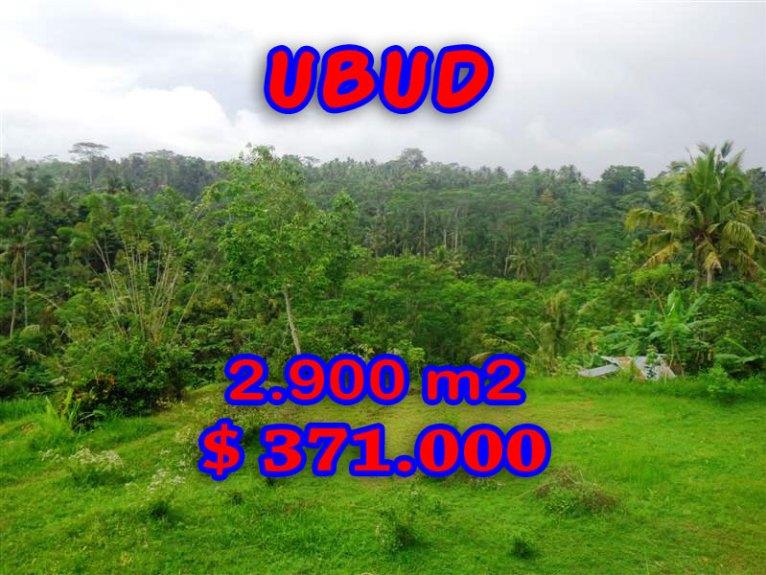 Land in Bali for sale, Fantastic view in Ubud Tampak Siring – TJUB272