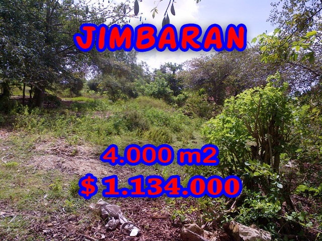 Property for sale in Jimbaran Bali, Terrific land for sale in Jimbaran Sawangan  – 4.000 m2 @ $ 283