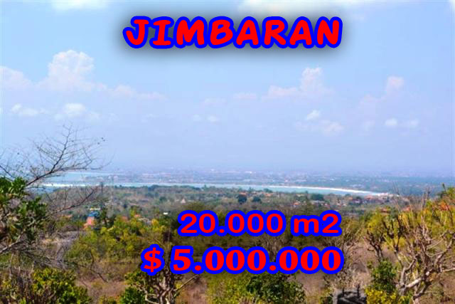 Amazing Property for sale in Bali, land for sale in Jimbaran Bali  – 20.000 m2 @ $ 250