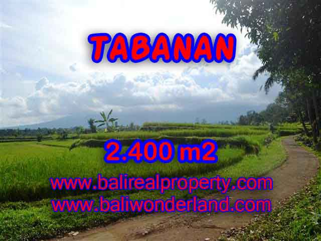 Land for sale in Bali, spectacular view in Tabanan Bali – TJTB126