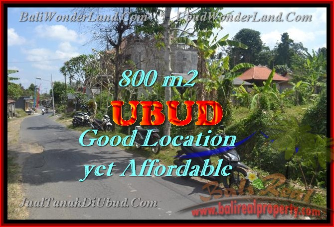 Land for sale in Ubud Bali, Magnificent view in Ubud Center – TJUB426