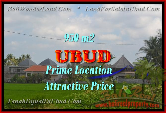 Land in Ubud Bali for sale, nice view in Ubud Center Bali – TJUB428