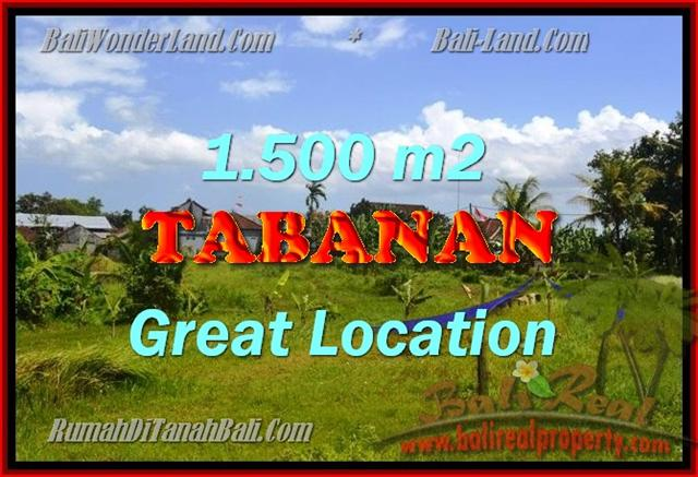 Property sale in Bali, Beautiful land in Tabanan for sale – TJTB144