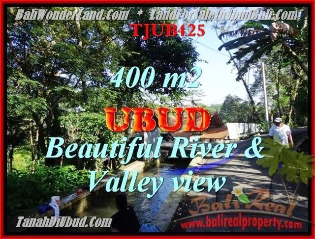 Exotic PROPERTY UBUD BALI 400 m2 LAND FOR SALE TJUB425