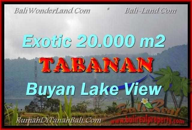 Exotic 20,000 m2 LAND FOR SALE IN TABANAN BALI TJTB163
