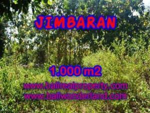 Affordable 1,000 m2 LAND SALE IN Jimbaran Ungasan BALI TJJI071