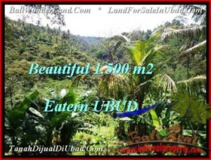 Exotic 1,500 m2 LAND FOR SALE IN UBUD BALI TJUB503