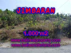 FOR SALE Exotic 1,000 m2 LAND IN Jimbaran Ungasan BALI TJJI074
