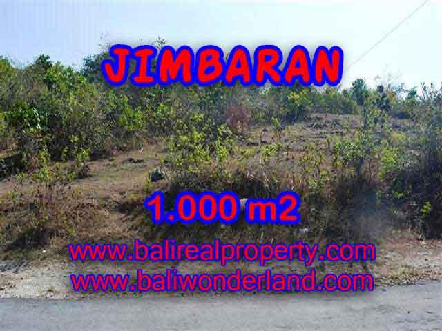 Jimbaran Ungasan BALI 1,000 m2 LAND FOR SALE TJJI074