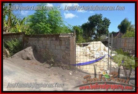 Beautiful PROPERTY 200 m2 LAND FOR SALE IN JIMBARAN BALI TJJI081