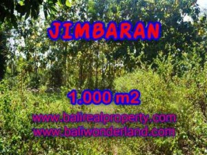 Affordable PROPERTY JIMBARAN 1,000 m2 LAND FOR SALE TJJI071