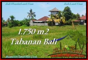 Magnificent PROPERTY TABANAN LAND FOR SALE TJTB231