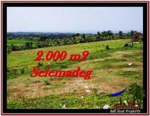 Exotic LAND SALE IN Tabanan Selemadeg BALI TJTB228