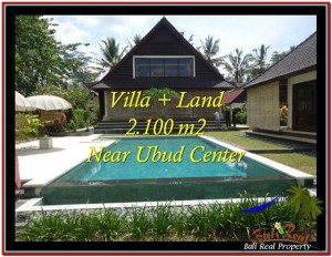 Exotic PROPERTY UBUD LAND FOR SALE TJUB530