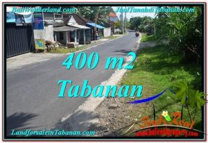 Magnificent 400 m2 LAND IN TABANAN BALI FOR SALE TJTB296