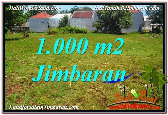 Exotic Jimbaran Ungasan 1,000 m2 LAND FOR SALE TJJI108