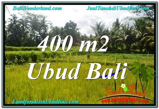 Magnificent 400 m2 LAND SALE IN UBUD BALI TJUB627