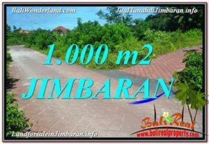 Magnificent 1,000 m2 LAND IN JIMBARAN BALI FOR SALE TJJI111