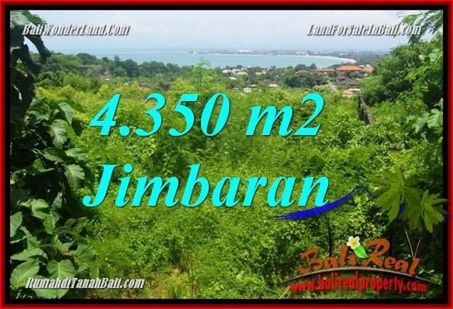 Exotic PROPERTY 4,350 m2 LAND SALE IN JIMBARAN TJJI120