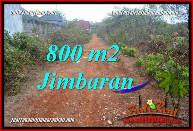 Affordable PROPERTY JIMBARAN UNGASAN 800 m2 LAND FOR SALE TJJI129