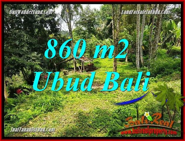 Beautiful Property 860 m2 Land for sale in Ubud Tegalalang Bali TJUB691