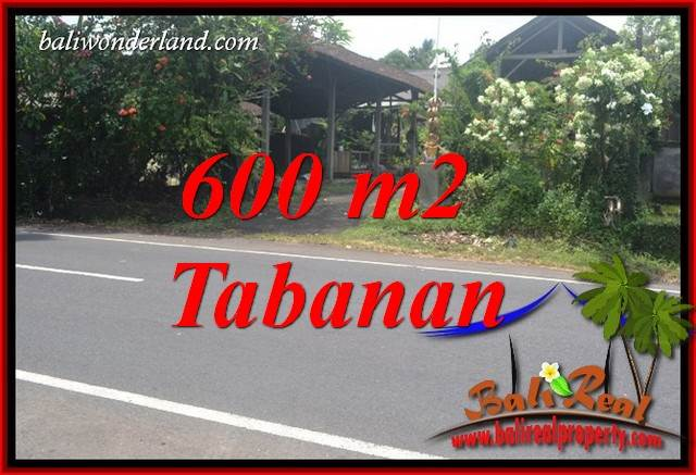FOR sale Magnificent 600 m2 Land in Tabanan Bali TJTB400