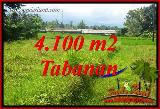 Exotic Property 4,100 m2 Land sale in Tabanan Penebel Bali TJTB417