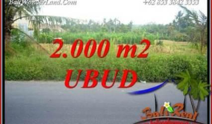 Affordable Land sale in Ubud Kemenuh Bali TJUB737