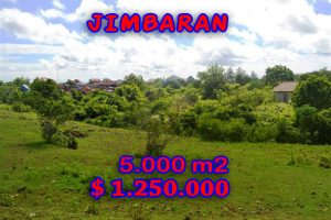 Land for sale in Jimbaran Uluwatu, Magnificent Property in Bali  – 5.000 sqm @ $ 250