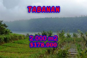 Land for sale in Bali, Beautiful view in Tabanan Bedugul Bali – TJTB061