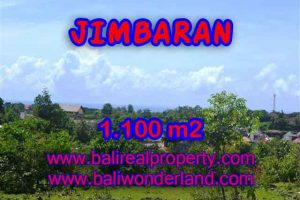 FOR SALE Affordable 1,100 m2 LAND IN Jimbaran Ungasan TJJI067