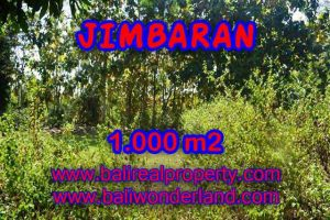 Magnificent 1,000 m2 LAND IN Jimbaran Ungasan BALI FOR SALE TJJI071
