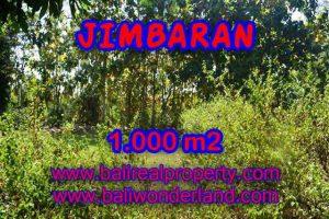 Magnificent 1,000 m2 LAND IN Jimbaran Ungasan BALI FOR SALE TJJI071