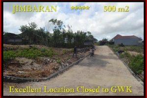 Magnificent 500 m2 LAND FOR SALE IN Jimbaran Ungasan BALI TJJI085