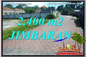 FOR SALE Exotic 2,400 m2 LAND IN Jimbaran Uluwatu  BALI TJJI110