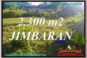 Beautiful 2,300 m2 LAND FOR SALE IN JIMBARAN BALI TJJI117