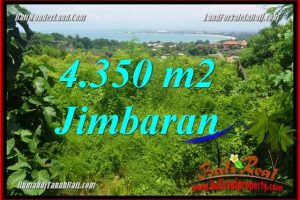 Beautiful PROPERTY 4,350 m2 LAND SALE IN JIMBARAN BALI TJJI120