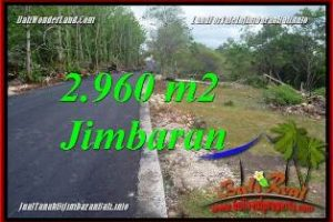 FOR SALE Affordable 2,960 m2 LAND IN JIMBARAN UNGASAN TJJI133A