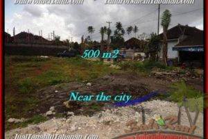 Exotic PROPERTY 500 m2 LAND SALE IN TABANAN BALI TJTB201