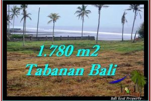 LAND IN Tabanan Selemadeg BALI FOR SALE TJTB249