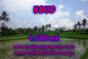 Land for sale in Ubud Bali, Great view in Ubud Center – TJUB376