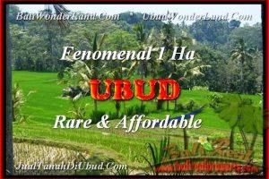 Beautiful PROPERTY LAND IN Ubud Pejeng FOR SALE TJUB456
