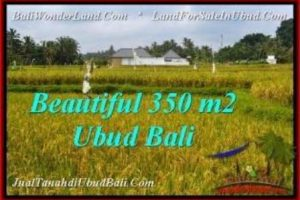 Magnificent PROPERTY 350 m2 LAND FOR SALE IN Sentral Ubud TJUB540