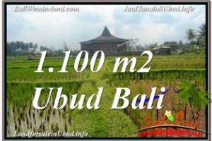 Beautiful 1,100 m2 LAND IN SENTRAL UBUD FOR SALE TJUB670